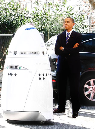 Obama Unveils Dalek To Exterminate Jesus and Create A New Age of Liberal Darkness