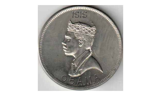 ISIS Now Minting Its Own Currency, Features Obama On The Silver Dirham Coin