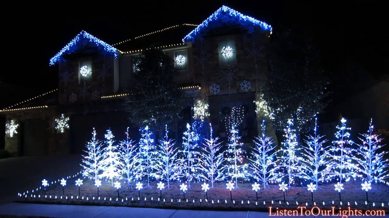 Let It Go Christmas Light Display In Texas Will Warm Hearts Nationwide