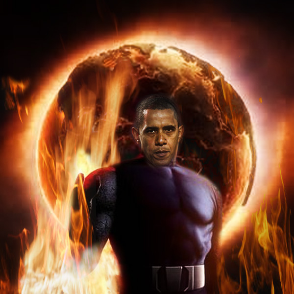 Obama Unveils Global Warming Plan To Transform Earth Into Satan's Fiery Kingdom