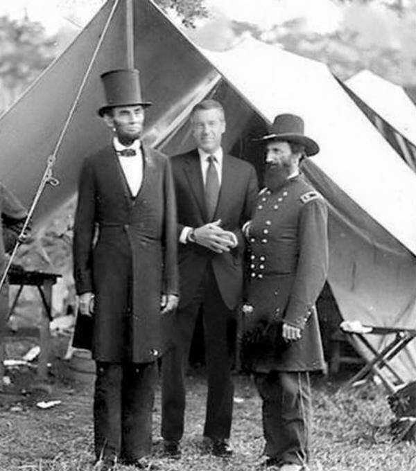 NBC News Host Brian Williams Helped Abraham Lincoln Free the Slaves 150 Years Ago Today