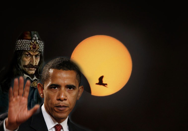 Obama Summons Solar Eclipse To Celebrate Spring Equinox and Signal Liberal Darkness