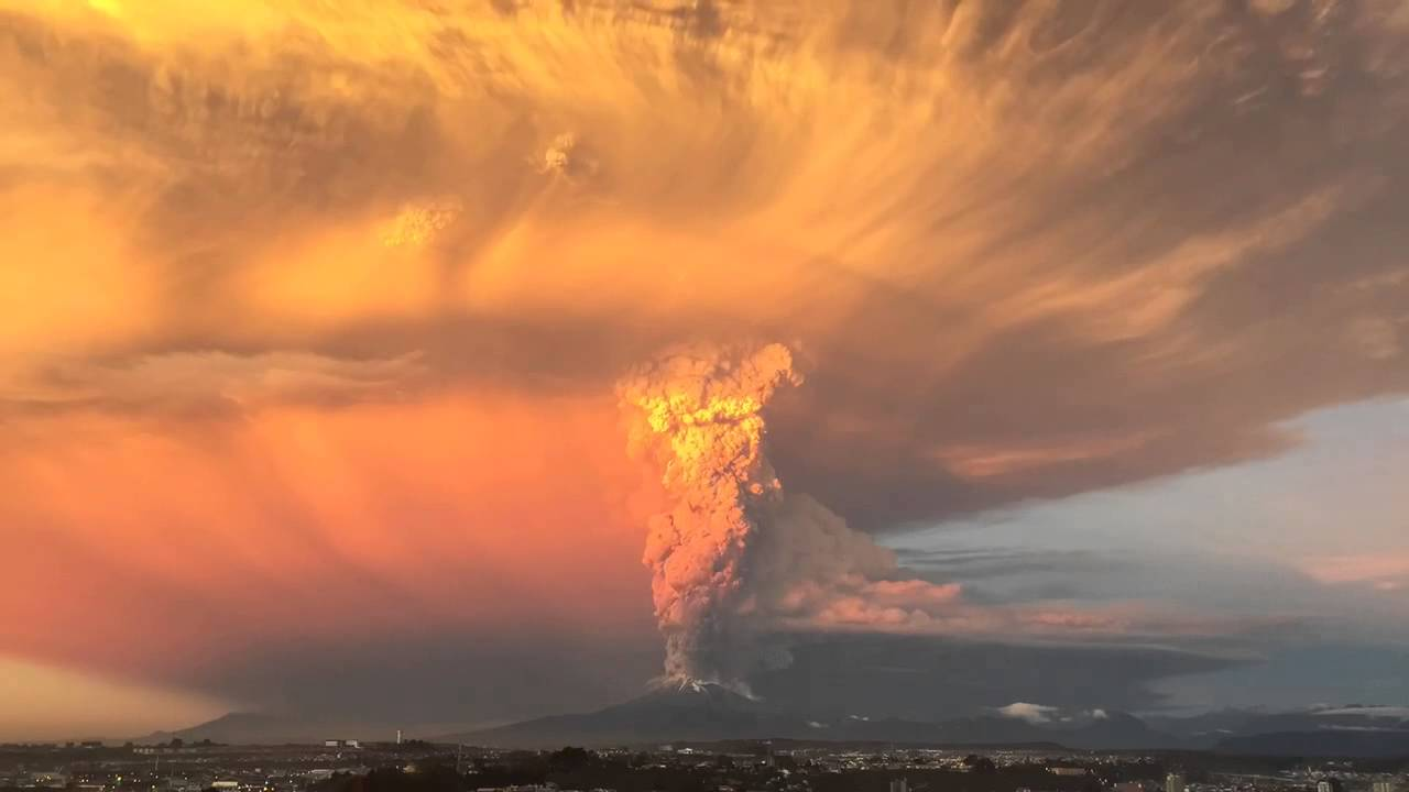 Calbuco Volcano In Chile Erupts, Thousands Evacuated