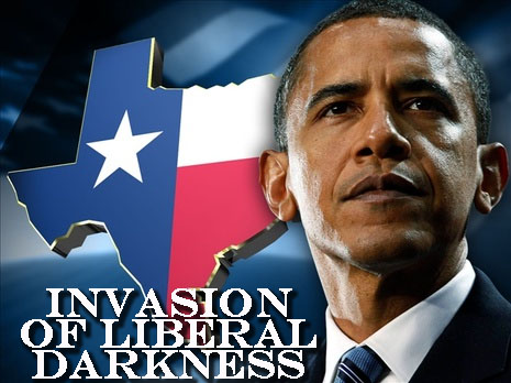 invasion of liberal darkness texas