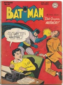 Batman #35 - VG - June, 1946 featuring Catwoman and Bob Kane art!