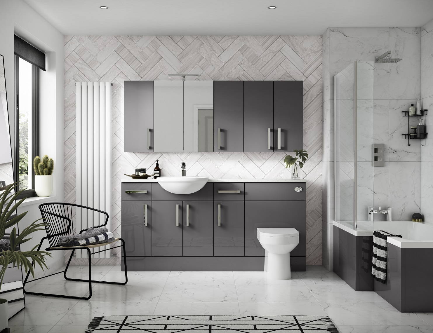 Black White Gray Bathroom Ideas Grey Bathroom Ideas For A Chic And Sophisticated Look