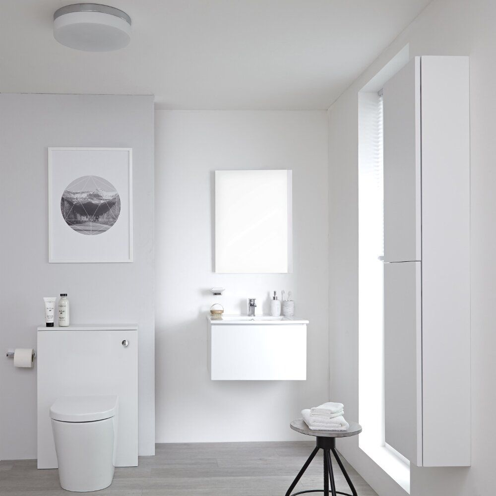 Smal Badkamermeubel How To Choose A Toilet And Basin For A Cloakroom