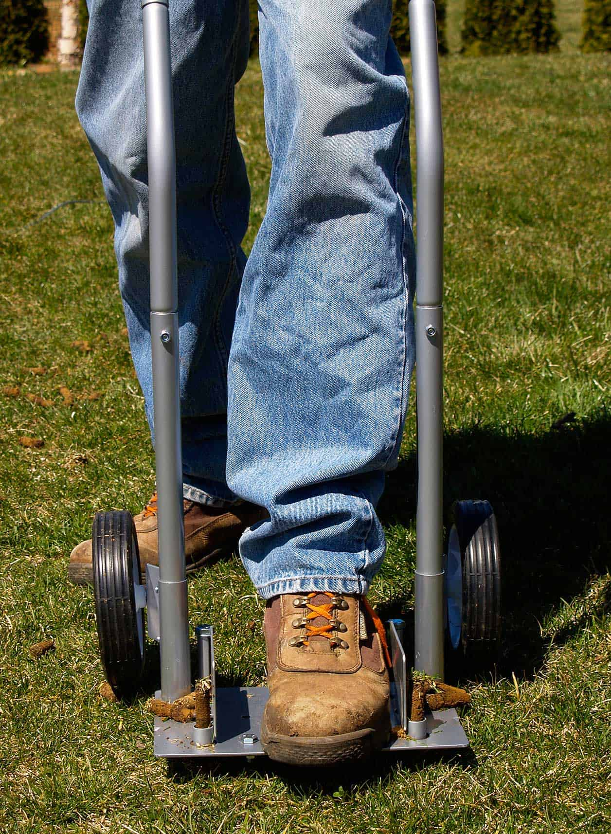 Grass Aerator Step N Tilt Core Lawn Aerator Review