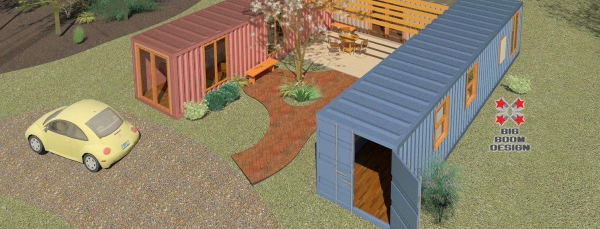 Tiny home podcast featuring boomer sassmann big boom blog - Container home blog ...