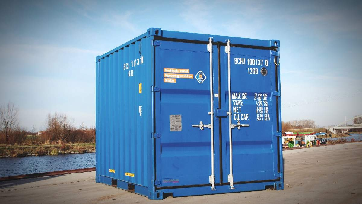 40 Fuß Container Gebraucht Seecontainer Upcycling Bigboxberlin