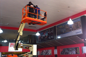 Signage Provided for Malas In Pretoria by Big Brand Productions