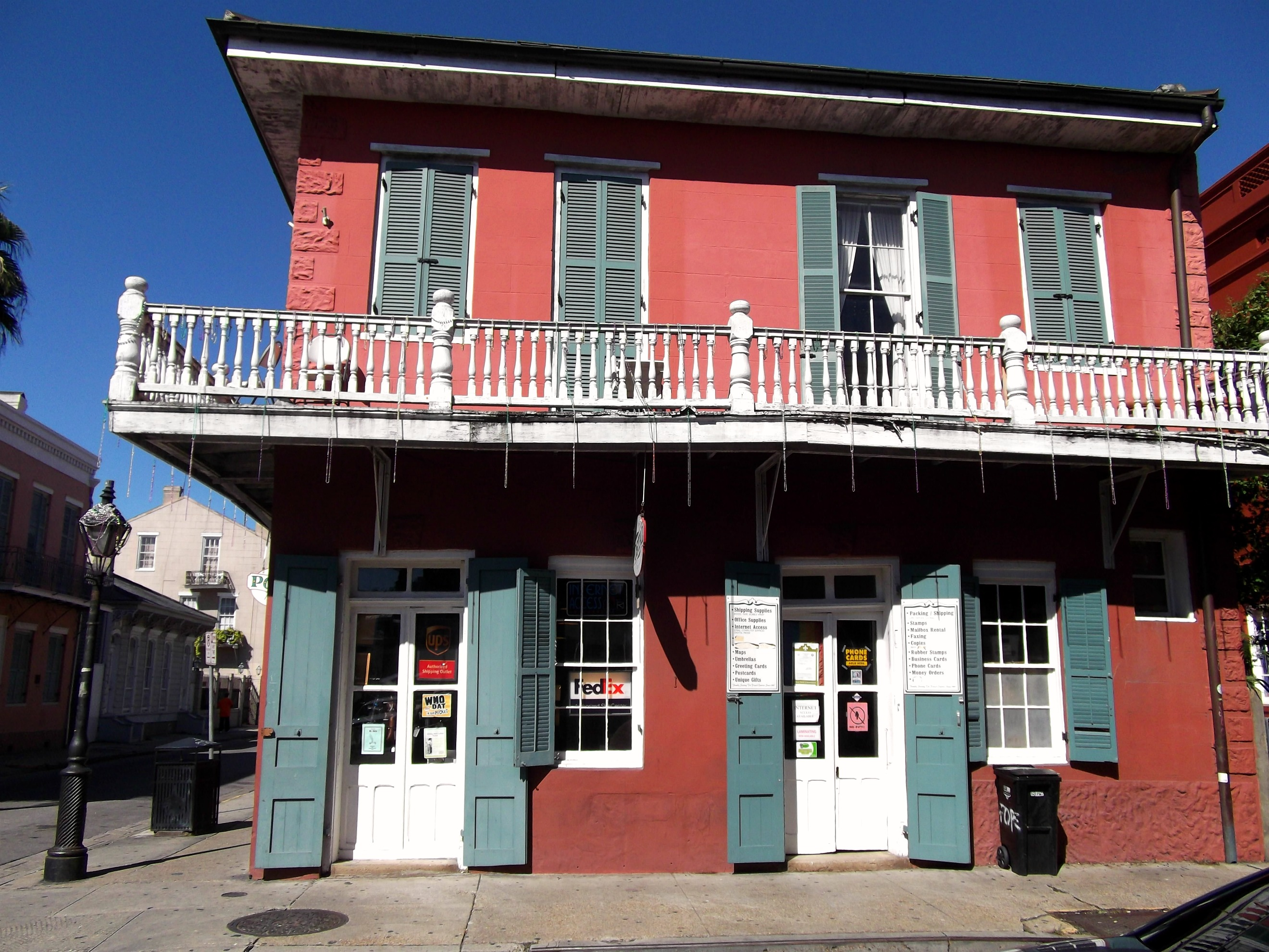 Home Office Urlaubsanspruch New Orleans The Beauty Of French Quarter Big Cities