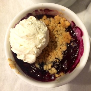 Pear, Apple, Blueberry & Cranberry Crumble