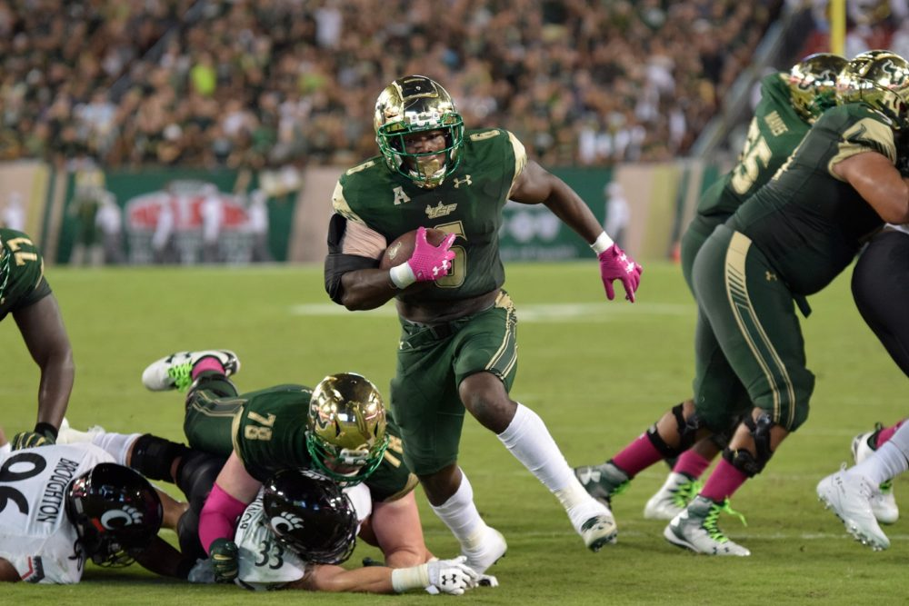Burning Questions at USF Who Will Step Up in the RB  QB Depth