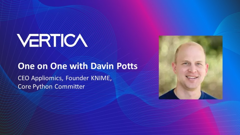 Davin Potts, CEO Appliomics, Founder KNIME, Core Python Commiter