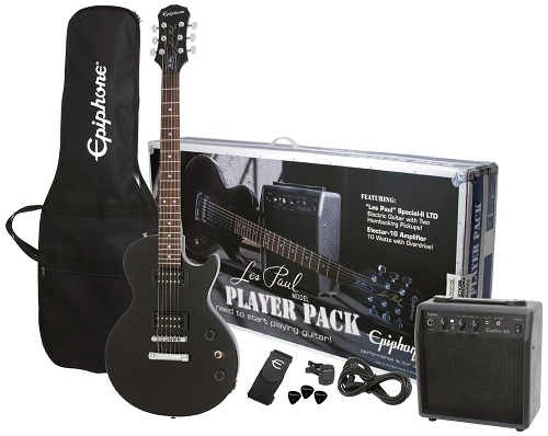 Epiphone Les Paul Special II Guitar Player Pack – Ebony