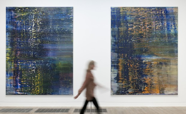 Gerhard Richter, Forest (3) and Forest (4), 1990