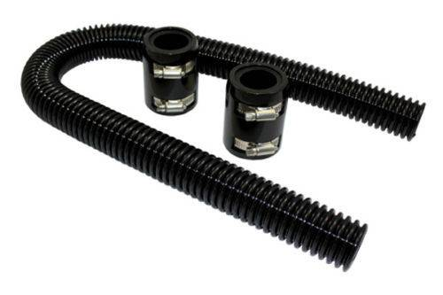 "36"" Universal Black Radiator Hose Kit"