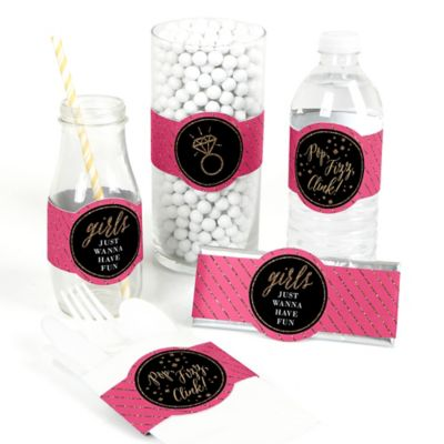 Diy Party Girls Night Out Bachelorette Party Diy Party Wrappers 15 Ct
