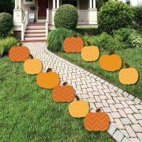 Pumpkin Patch - Pumpkin Lawn Decorations - Outdoor Fall or ...