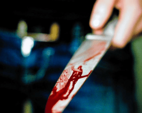 knife bloody