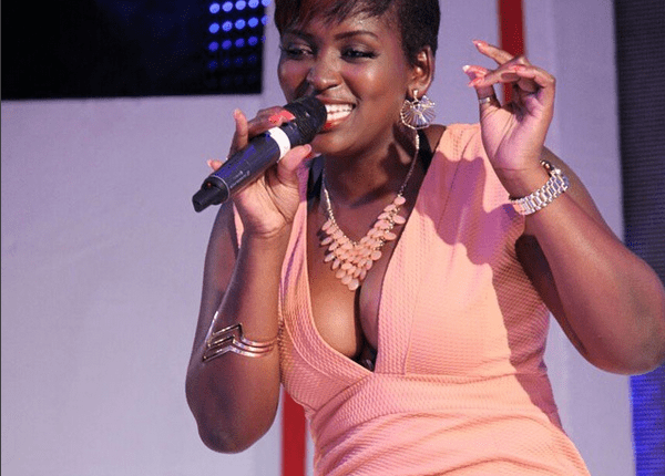 Winnie Nwagi performing at the Coca Cola Rated Next finale last month.