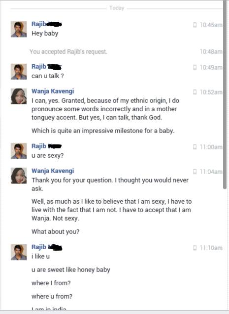 This is the funniest sex chat you will ever read, check it