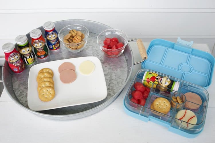 fuel their adventures with a diy sports theme bento lunch. Black Bedroom Furniture Sets. Home Design Ideas
