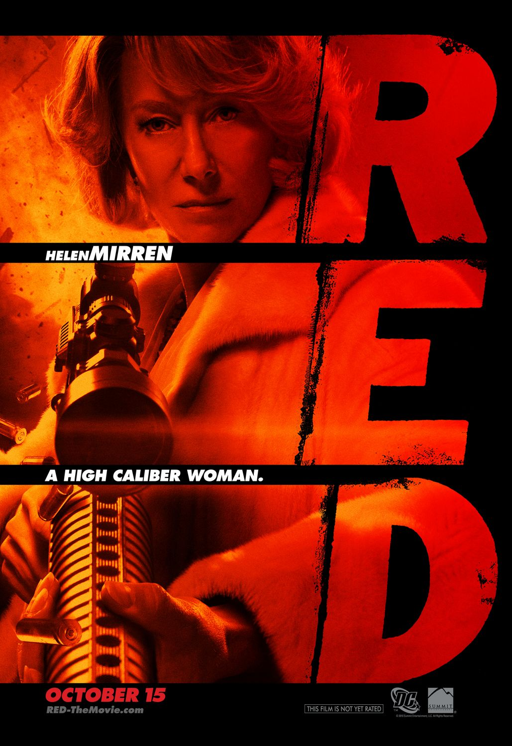 Poster Red Red Gets Another Poster This One Spotlighting Helen Mirren