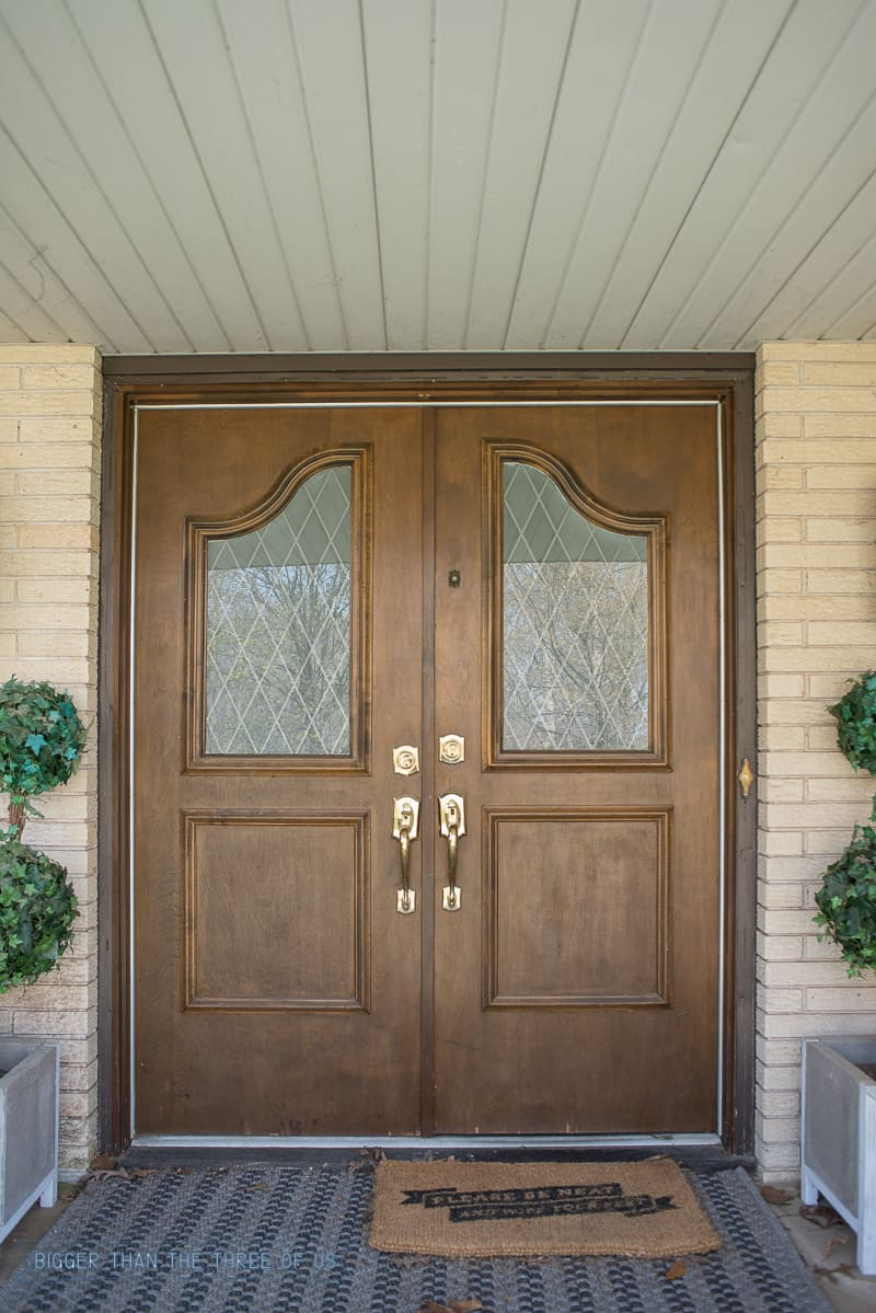 Replace Doors Install And Enlarge Glass In Exterior Doors Or Replace Exterior