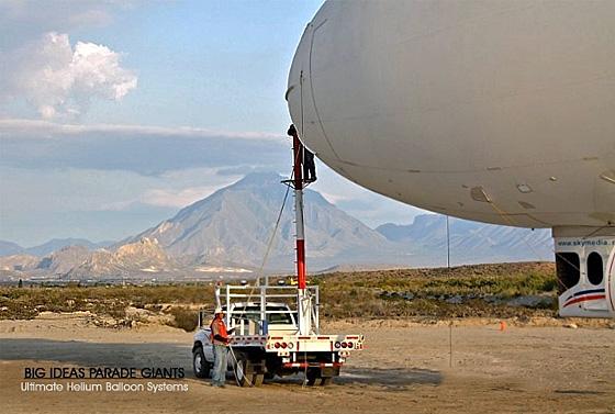 Helium UAV Airship