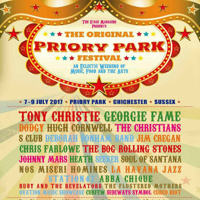 Priory Park Festival – Roll on 2018!