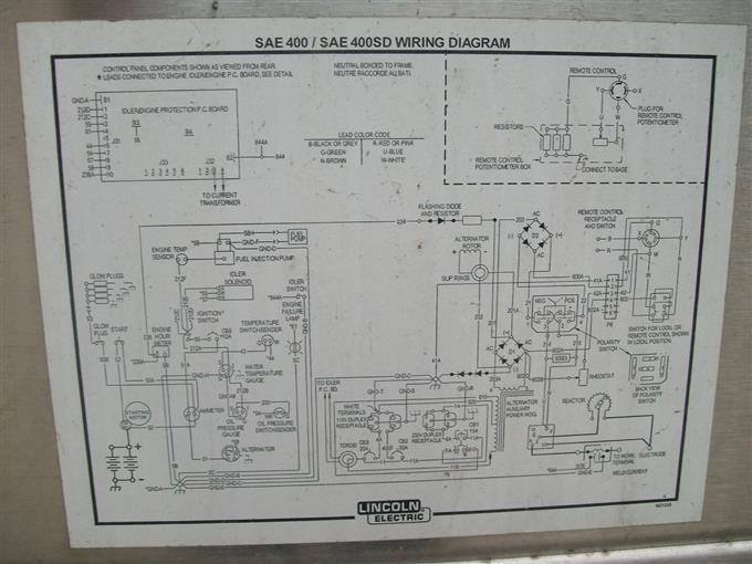 Lincoln Sae 400 Wiring Diagram - Nkpavegenerostore \u2022