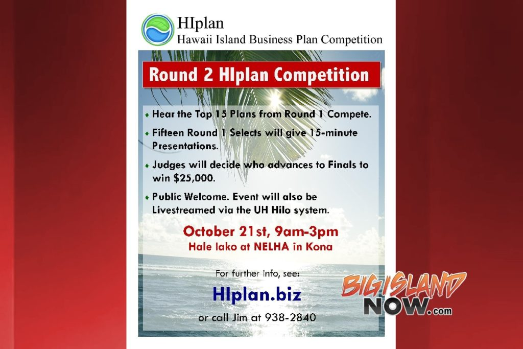 HIplan Competition Semi-finalists to Pitch Business Plans Big - 5 minute business plan