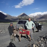 Meeting the locals on the way up the valley.