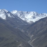 Big Pamir mountain range