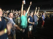 Metallica Rocks Singapore. The lads get a little excited (Singapore)