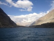 Mountain Views from the boat (Attabad Lake, Pakistan)