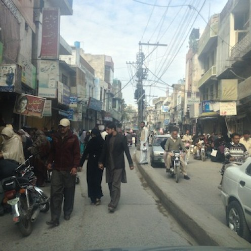 Streets of Rawalpindi (Pakistan)