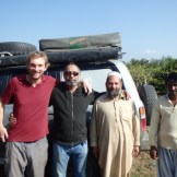 Tariq & friends say farewell (Islamabad, Pakistan)