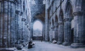 Kirkstall Abbey 1890s