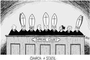 Anti Catholic Editorial Cartoon