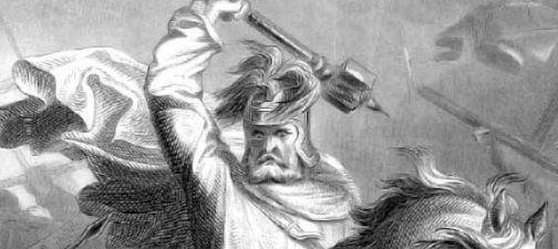Charles Martel Black and White