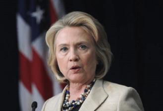 Hillary Clinton Love Abortion US American Flag
