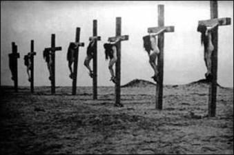 Actual Crucifixion
