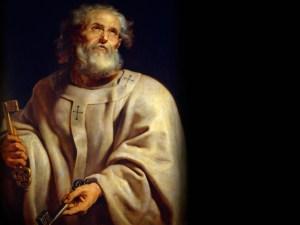 Repentent Saint Peter with Keys