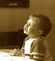 Kid Child Praying Hard Cute Adorable