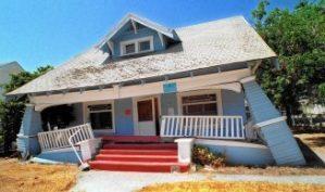 Home Survives Earthquake