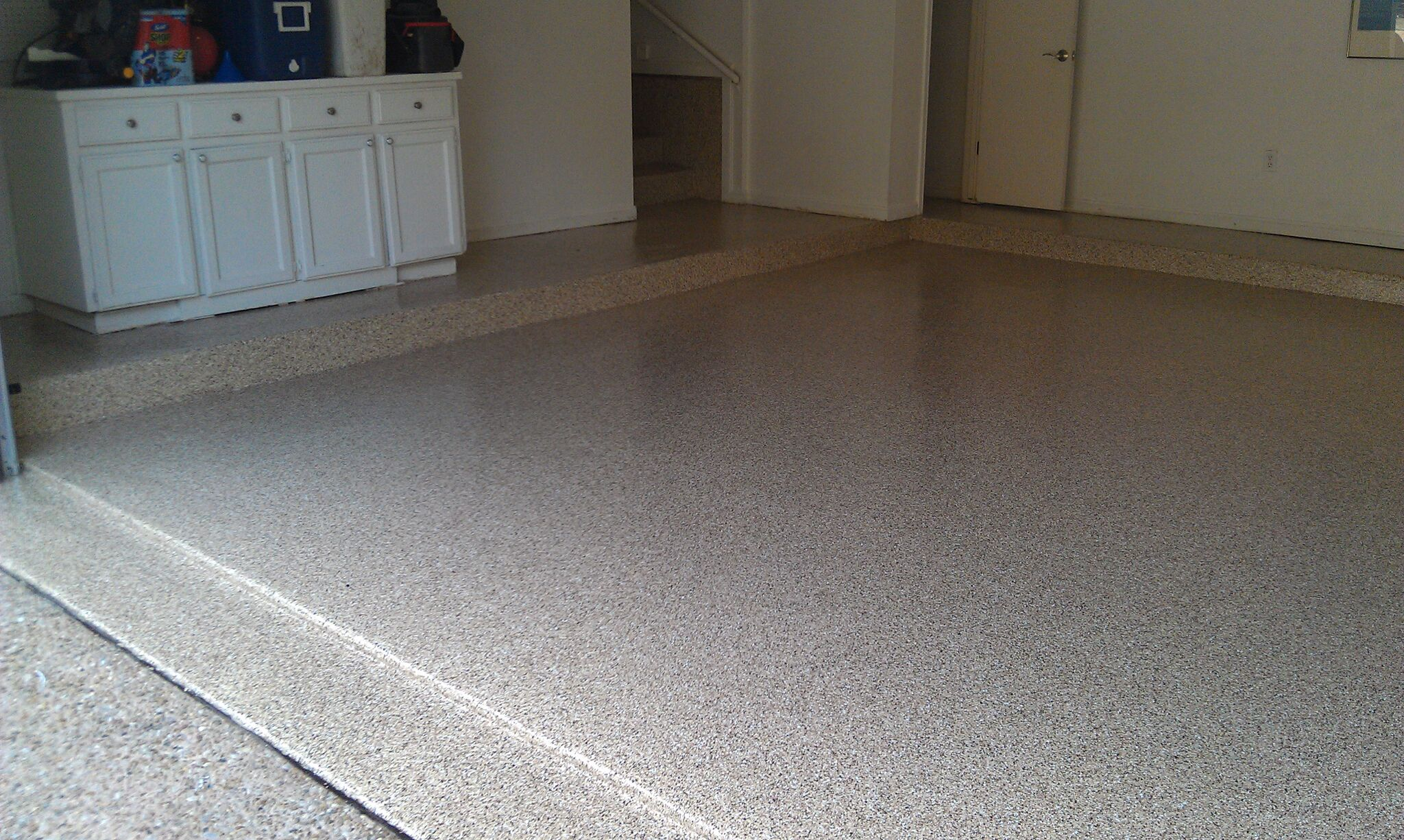 Garage Floor Epoxy Steps Epoxy Or Urethane Coatings For Garage Floors Big Red Decorative