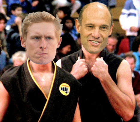 an analysis of the karate kid A new video suggests that daniel might actually be the 'karate kid'  and that  was never made to stand up to post-modern youtube analysis.